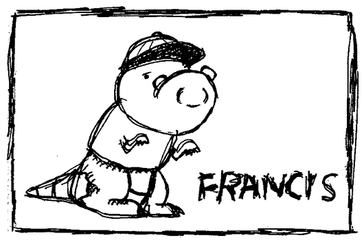 Francis the ''Dinosaur'' by XRetroMuffinX