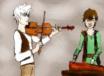 Fiddle and Fidla by FormyHijackArt