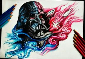 Darth Vader by CamilaTurrini