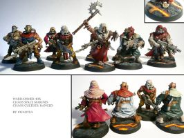 Ranged Chaos Cultists by chaotea