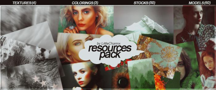 RESOURCES PACK by LittleCharmx by LittleCharmx
