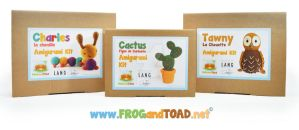 Amigurumi Kits - FROGandTOAD Creations by FROG-and-TOAD