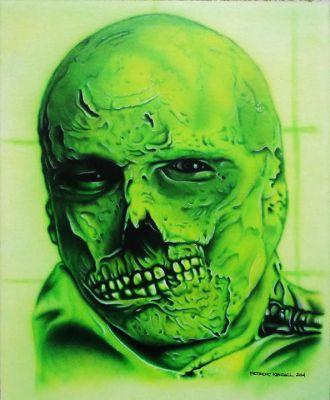 Dr Phibes Airbrush by Mr-Mordacious