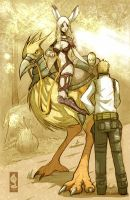 Fran and Balthier by Ricsnake