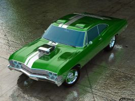 muscle car by cipriany