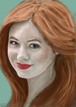 Amy Pond III by Goldfhie