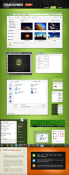 Clearscreen Sharp for Windows7 by K-Johnson