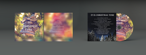 IT IS CHRISTMAS TIME CD COVER by Berny-Design