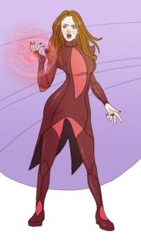 Scarlet Witch by The-Mirrorball-Man