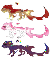 Water Dragon Adopts #5 OPEN! by ErisAdopts