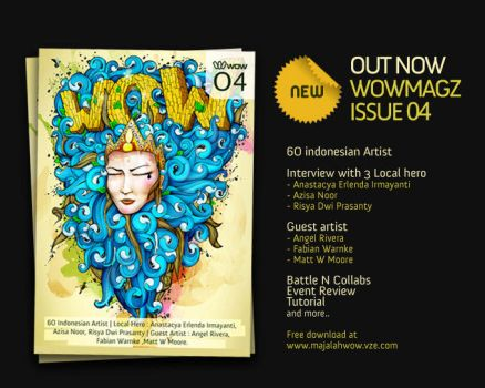 WOWmagz Issue 04 press release by wOwindonesia
