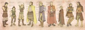 The Dondarrion Gang by mustamirri
