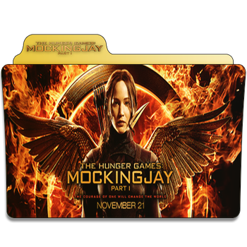 The Hunger Games Mockingjay Folder Icon by Je-Vi