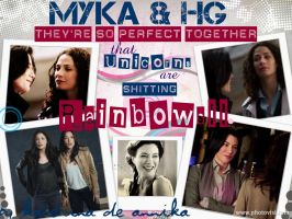 Myka and HG Wallpaper 01 by KaterinaDeAnnika