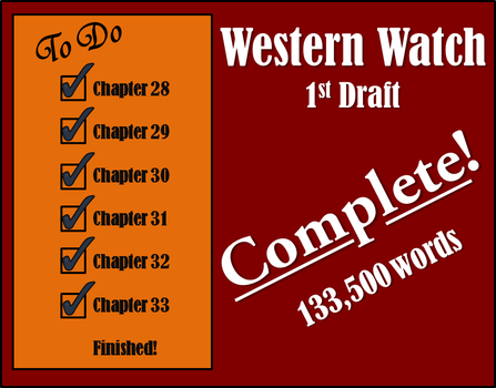 First Draft is Finished by LadyMerrethsAuthor
