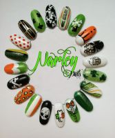 St. Patricks Day Nail Wheel by NarleysZone