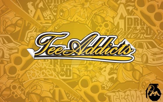 Tee-Addicts Sticker Wall by motion-attack