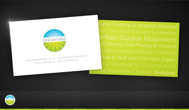 Quickworks Business Card by Birthed