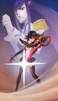 Kill la Kill by ta-ku-zou