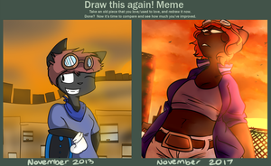 Draw This Again 2013-2017 by ddddspup