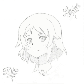 SAO Lisbeth Line Art Sketch -w- Shading by drewq123