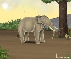 Dwarf Elephant by Louisetheanimator