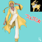 Jolteon (Gijinka) by Meloewe