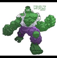 HULK by urban-barbarian