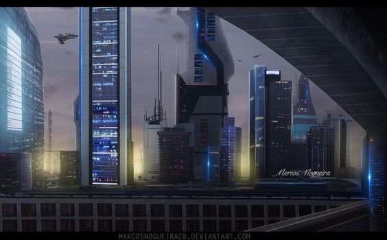 Future City by marcosnogueiracb
