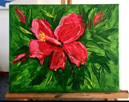 Hibiscus by Abaez40