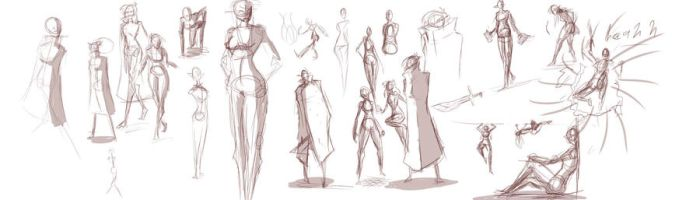 sketches-Leli by PumaForge