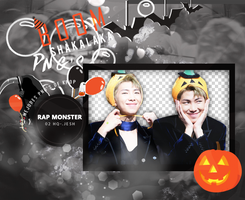 Rap Monster PNG Pack |BTS by Upwishcolorssx