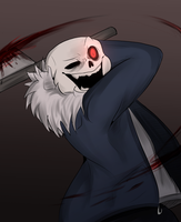 Horrortale Sans by SafulousArt