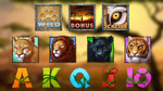 Wild Cats themed Online slot game by slotopaintcom