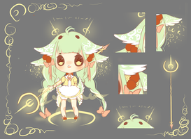 Mint Loli Mage Adoptable Auction[CLOSED] by Iy-shu