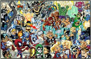 Superheroes 2011 by DaneRot