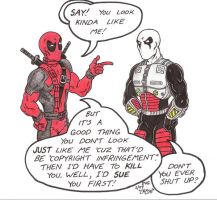 F.A.U.S.T. 2000 meets Deadpool by Crash2014