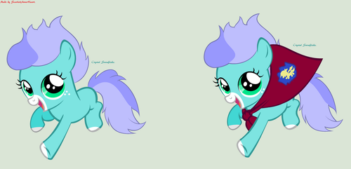 Crystal Snowflake character debut! by ScarlettAnnaHeart