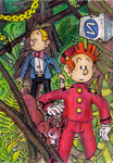 Spirou and Fantasio by Antaie