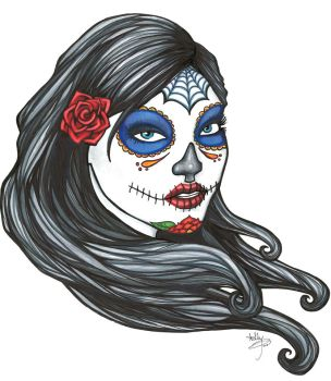Day of the Dead Color by badash13
