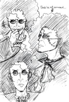 Brook Sketches 2 by KikkoPirate