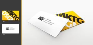 MKTG DSGN business card by mattnagy
