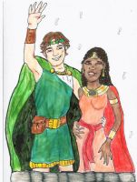 Perseus and Andromeda by rumpuboy4