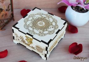 Wooden Box Steampunk by ChibiPyro