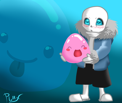 Slime Rancher Sans by Chiiryu