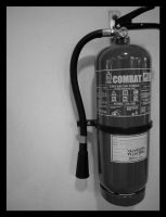 Just a fire extinguisher by joywalker