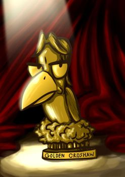 The 1st Annual Golden Croshaw Award Trophy by kdanielss
