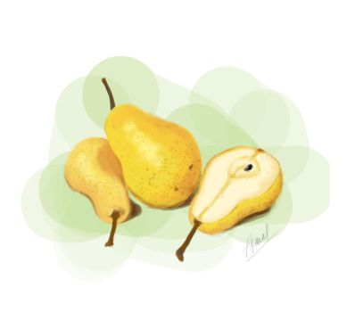 Speed Painting 2: Pears by akmal656