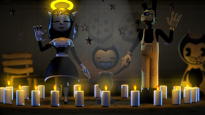 Can We Get an Amen? - [Batim Poster] by ChuizaProductions