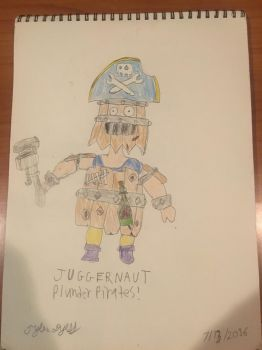 Plunder Pirates Juggernaut by TDManiacXC626
